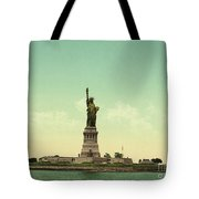Statue Of Liberty, New York Harbor Tote Bag