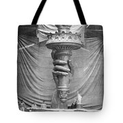 Statue Of Liberty, Paris Tote Bag
