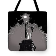 Statue Of Liberty Power Outage 1942-2014 Tote Bag