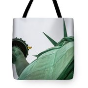 Statue Of Liberty, Torch And Crown Tote Bag