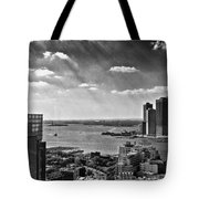 Statue Of Liberty View Tote Bag