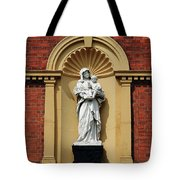Statue Of Mother And Child Tote Bag