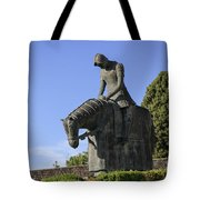 Statue Of St Francis Of Assisi  Tote Bag