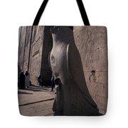 Statue Of The Bird God, Horus Tote Bag