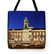 Statue Of William Of Orange On The Plein - The Hague Tote Bag