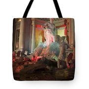 Statues At Ceasars Palace Tote Bag