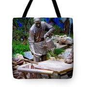 Statues Of After Noon Tea Tote Bag