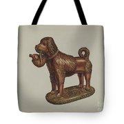 Statuette Of A Dog Tote Bag