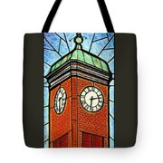 Staunton Clock Tower Landmark Tote Bag