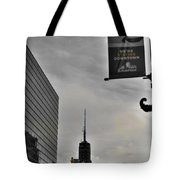 Staying Downtown Tote Bag