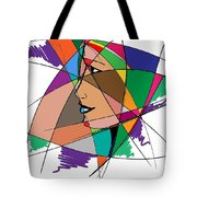 Staying Focused Tote Bag
