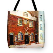 St.dominique Street Synagogue Tote Bag