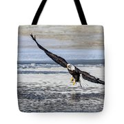 Steady Approach Tote Bag
