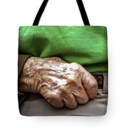 Steadying Hand Tote Bag