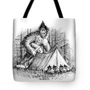 Stealin The Cooler - Sasquatch Tote Bag