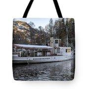 Steam Boat On Loch Katrine Tote Bag
