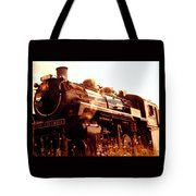 Steam Engine 3716 Tote Bag
