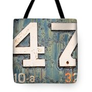 Steam Engine 47 Tote Bag
