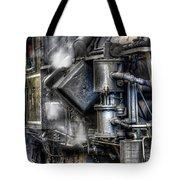 Steam Engine Detail Tote Bag