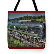 Steam Locomotive 34027 The Taw Valley Tote Bag