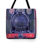 Steam Locomotive Train Tote Bag