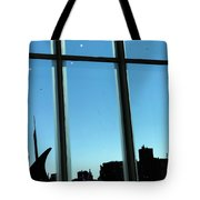 Steam Pipe Explosion Tote Bag