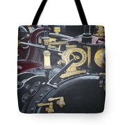 Steam Tractor Tote Bag by Richard Le Page