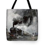 Steam Train At Garsdale - Cumbria Tote Bag