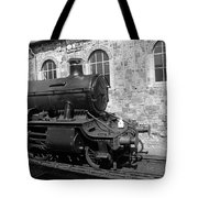 Steam Train In Station Tote Bag