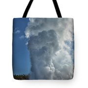 Steamboat Geyser Tote Bag by Greg Norrell