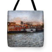 Steamboat On The Nile Tote Bag