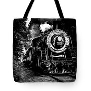 Steaming Through The Pass Tote Bag