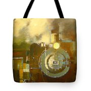 Steaming Up Mining Country Tote Bag
