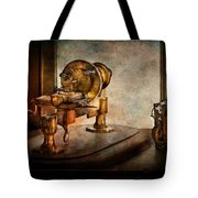 Steampunk - Gear Technology Tote Bag by Mike Savad