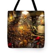 Steampunk - Naval - The Torpedo Room Tote Bag
