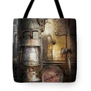 Steampunk - Silent Into The Night Tote Bag