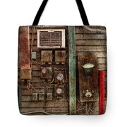 Steampunk - The Future  Tote Bag by Mike Savad