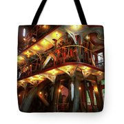 Steampunk - Allis Does All The Work Tote Bag
