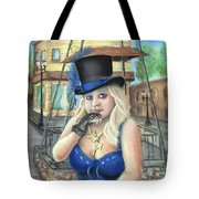 Steampunk Becky Tote Bag