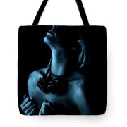 Steampunk Blue Tote Bag