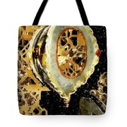 Steampunk Christmas Tote Bag