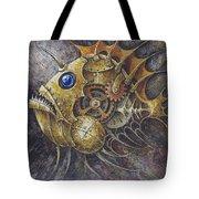 Steampunk Fish A Tote Bag