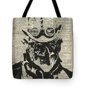 Steampunk Guy Tote Bag