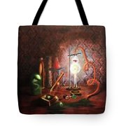 Steampunk Laboratory Tote Bag