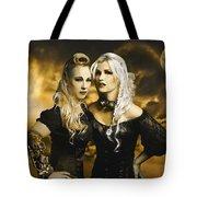Steampunk Maidens Tote Bag