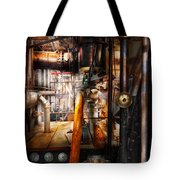 Steampunk - Plumbing - Pipes Tote Bag