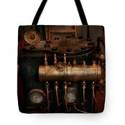 Steampunk - Plumbing - The Valve Matrix Tote Bag