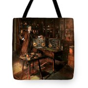 Steampunk - The Time Traveler 1920 Tote Bag