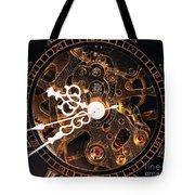Steampunk Time Tote Bag by John Rizzuto