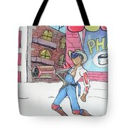 Steampunked Hillbilly Tote Bag